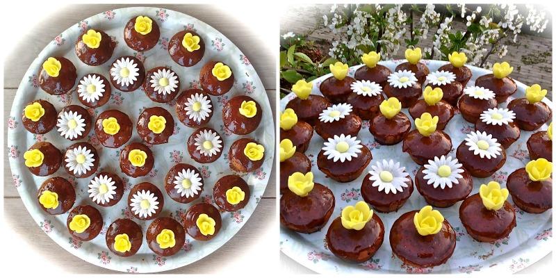 Chocoladecupcakes met chocoladeglazuur - www.truitjeroermeniet.be