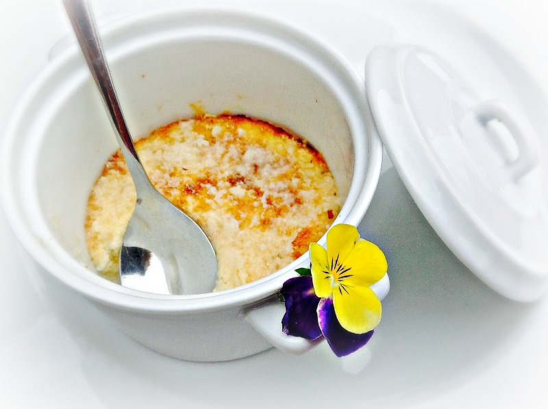Crème brûlée van asperges - www.truitjeroermeniet.be
