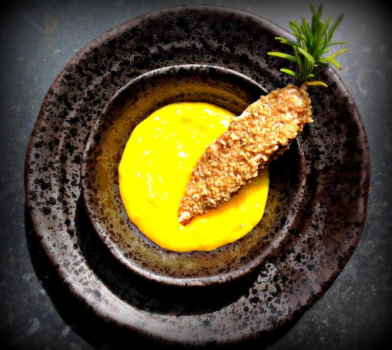 Kip op rozemarijnstokje met mangodip- www.truitjeroermeniet.be
