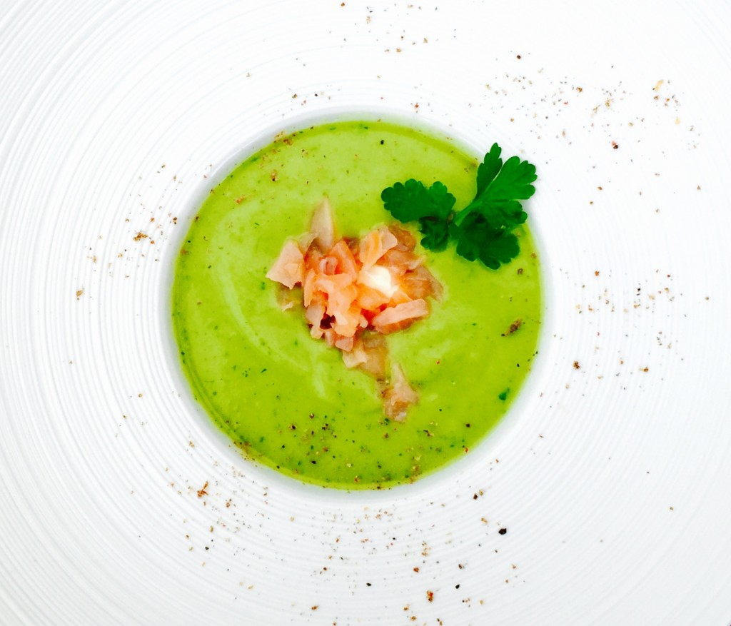 Avocadosoepje met zalm - www.truitjeroermeniet.be