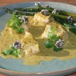 Zachte Thaise viscurry voor het hele gezin