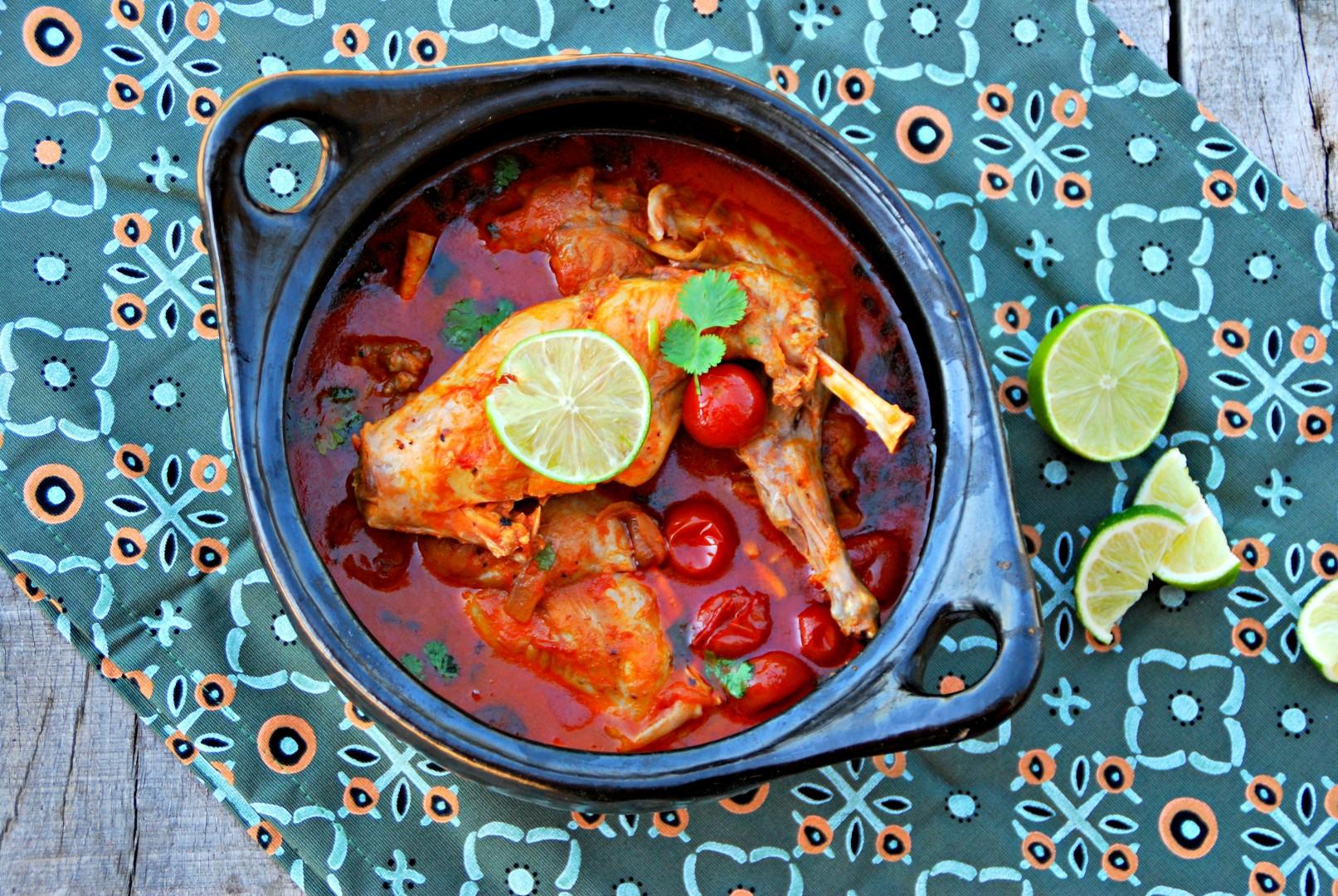 Curry van konijnenbout met tomaat en limoen - www.truitjeroermeniet.be