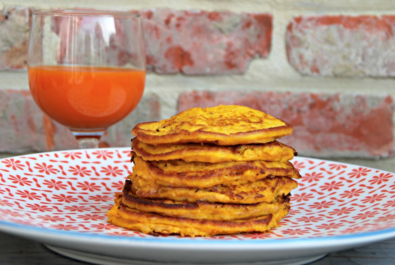 Hartige pancakes van wortel en ricotta - www.truitjeroermeniet.be