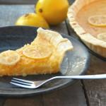 Citroentaart met limoncello-citroentjes