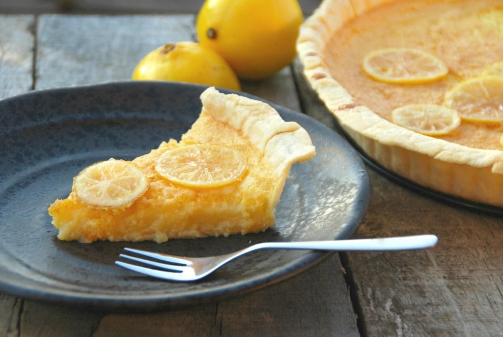 Citroentaart met limoncello-citroentjes - www.truitjeroermeniet.be