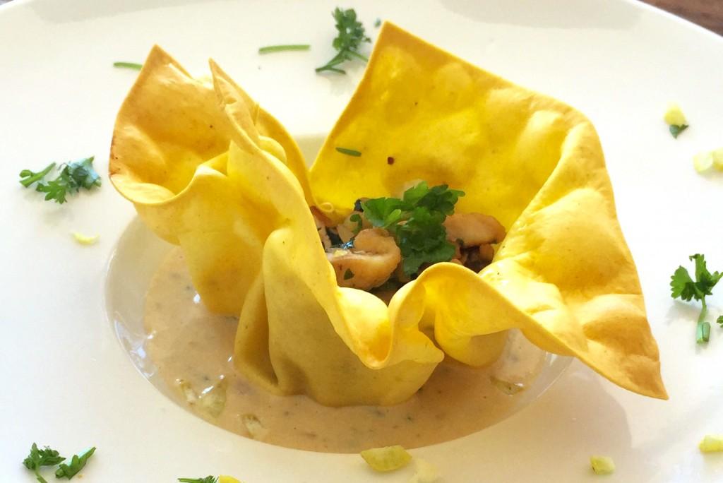 Lasagnetulpje met vulling van kip, champignons en citroenzeste - www.truitjeroermeniet.be