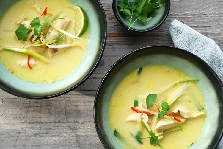 Thaise kippensoep - www.truitjeroermeniet.be