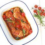 Toscaans konijn met pancetta en rozemarijn