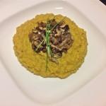 Veggie – quinoa met pompoen en champignons