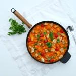 Curry van bloemkool met kip